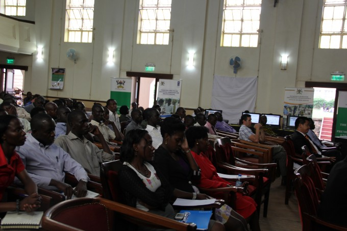 The Office of the Prime Minister in Uganda, United Nations Development Program (UNDP) and Makerere University celebrated the International Day for Disaster Reduction-October 13, 2014