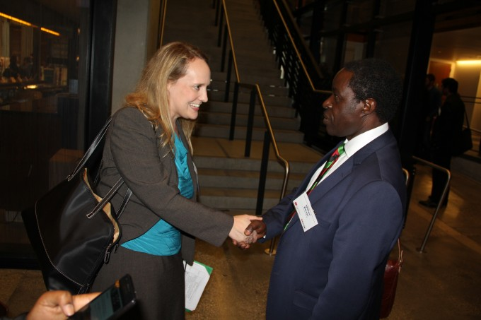 Thank you Prof. William Bazeyo for the great work says Tara Hill-RAN AoR at USAID