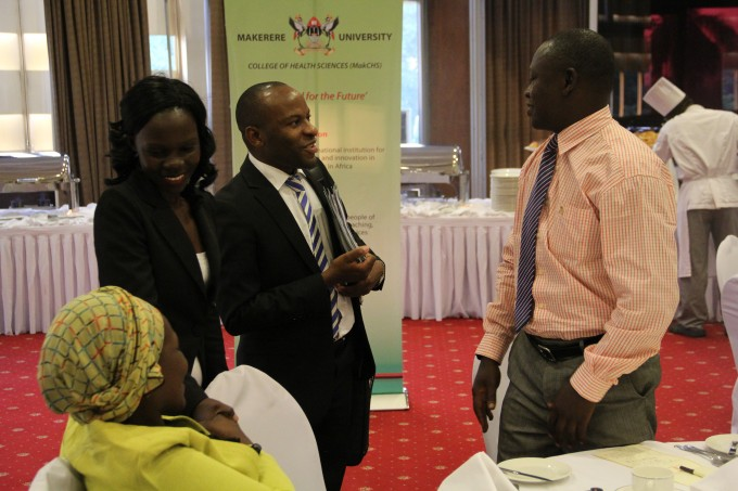 Further interactions at the DP results disemination meeting