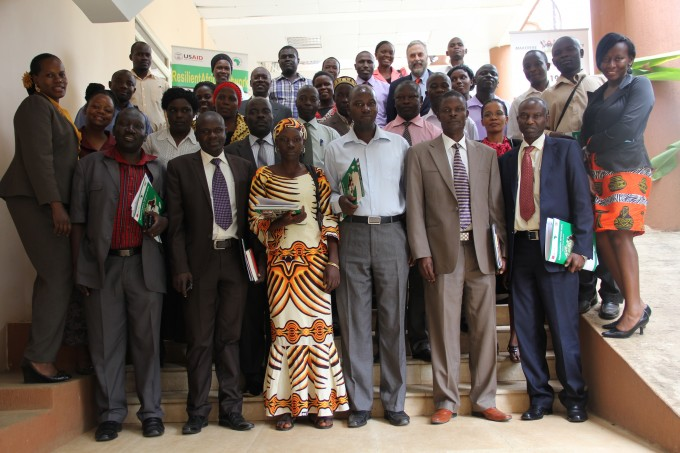 A cross section of the participants at the DP results dissemination