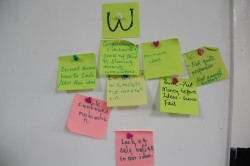 Some of the weaknesses of innovation spaces identified by participants
