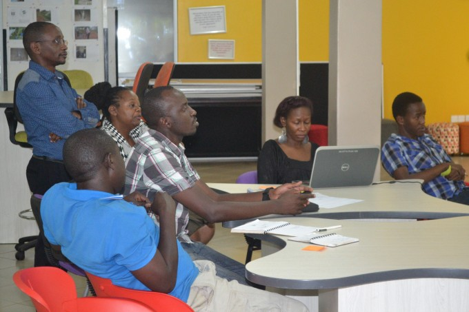 Experts from the Innovation Consortium deliberate on how best to push forth the Community Radio Project-RootIO