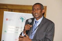 IGAD Executive Secretary,H.E. Ambassador (Eng.) Mahboub Maalim commending RAN's work