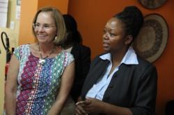 Ms.-Leslie-Reed-U.S.-Mission-Director-Uganda-left-with-Dr.-Dorothy-Okello-RAN-Director-of-Innovation