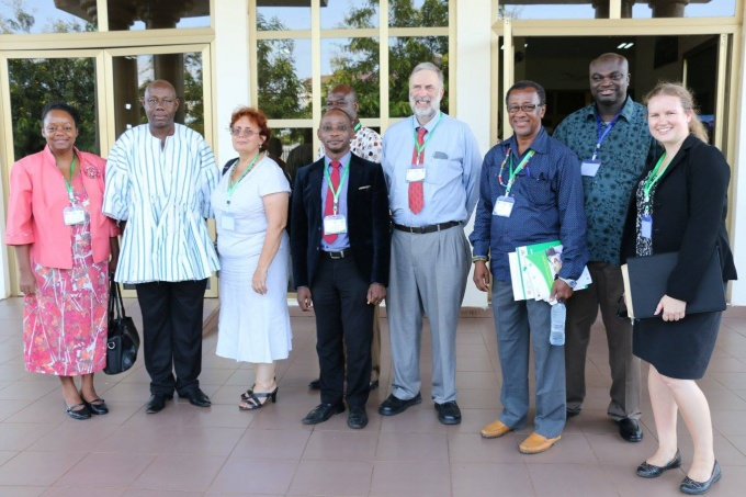 RAN team with some of the WA RI Lab Innovation Advisory Board members, Stanford University and USAID