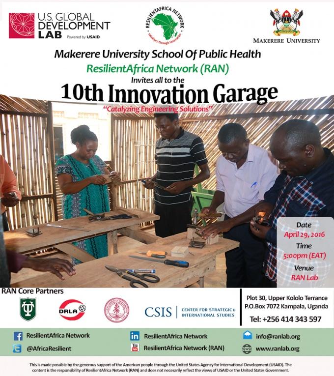 10 Innovation Garage