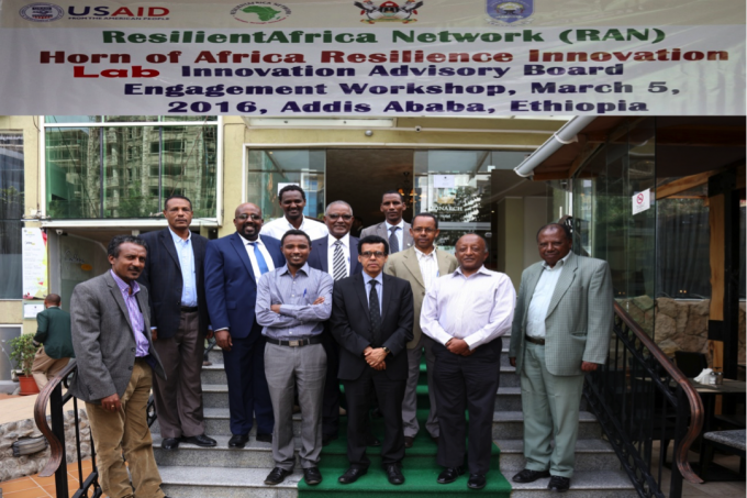 Participants of HoA RILab Innovation Advisory Board Engagement Workshop