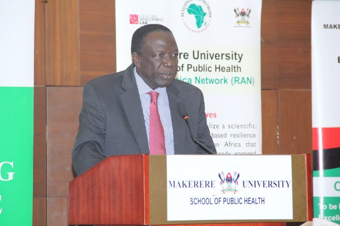 Dr. Charles Wana Etyem, Makerere University's Chairman Council
