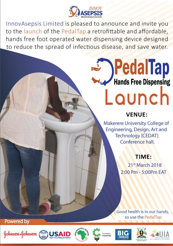 PedalTap launch poster