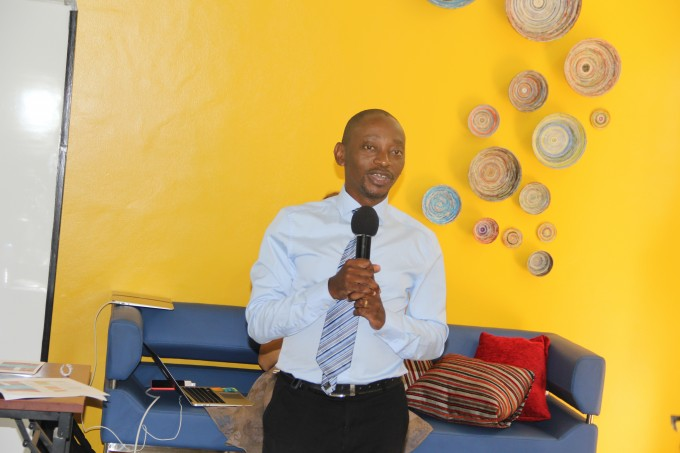 RAN Deputy Chief of Party, Dr. Roy William Mayega opening the NeedFinding Workshop