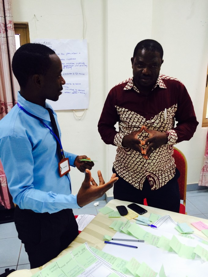 CRID Participants discuss innovative projects