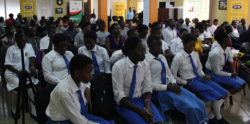 Students from Makerere Modern at the National Technovation Challenge