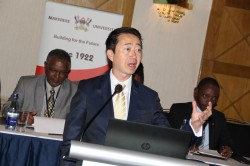 IMG_3885 Prof. Ky Luu RAN Co-Chief of Party; Executive Director and Clinical Associate Professor, TulaneDRLA led Panel 2 Discussion on the State of African Resilience Report in Nairobi Kenya