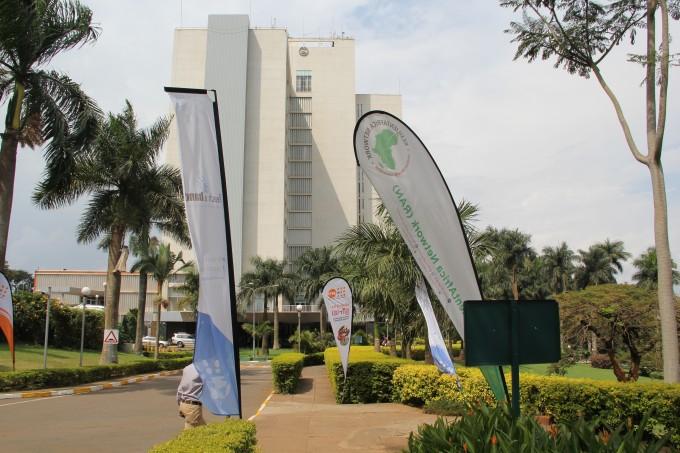 Calm environment at the Sheraton Kampala Hotel aiding Innovation