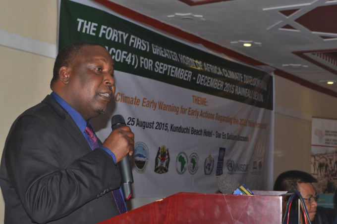 Hon. Dr. Charles Tizeba, Deputy Minister of Transport of the United Republic of Tanzania, Guest of Honor-GHACOF 41