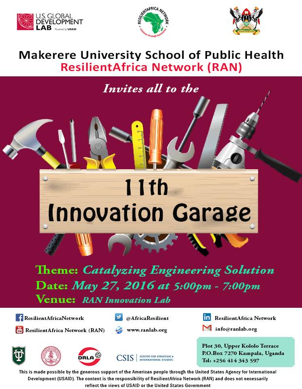 11 Innovation Garage poster