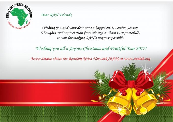 Xmas Card for RAN Friends