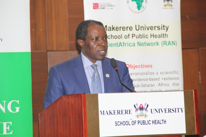 Prof. William Bazeyo, RAN's Chief of Party and Acting Deputy Vice Chancellor at Makerere University
